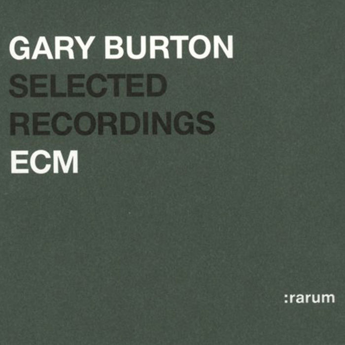 Selected Recordings - Gary Burton (CD)