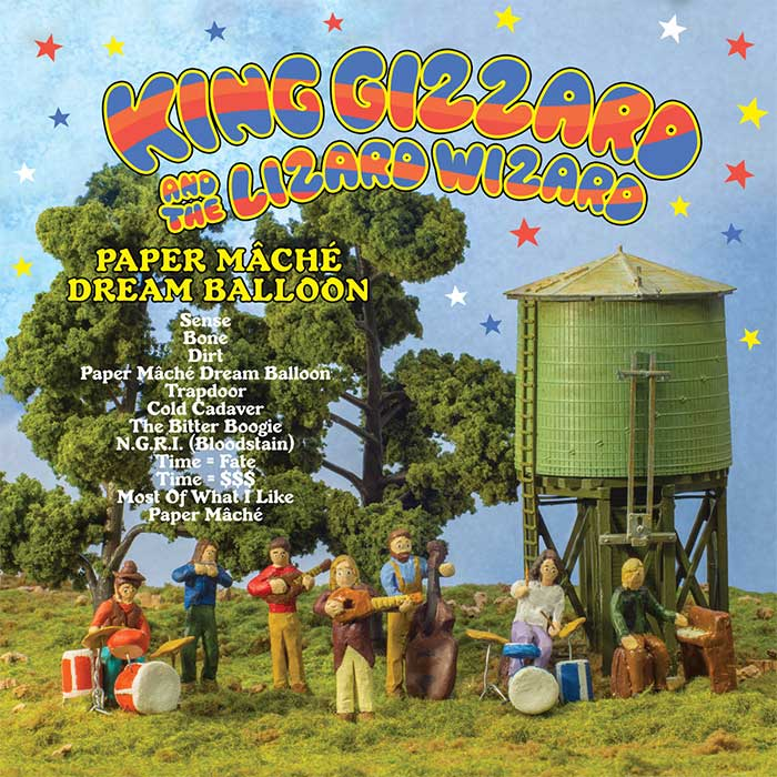 Paper Mâché Dream Balloon - King Gizzard And The Lizard Wizard