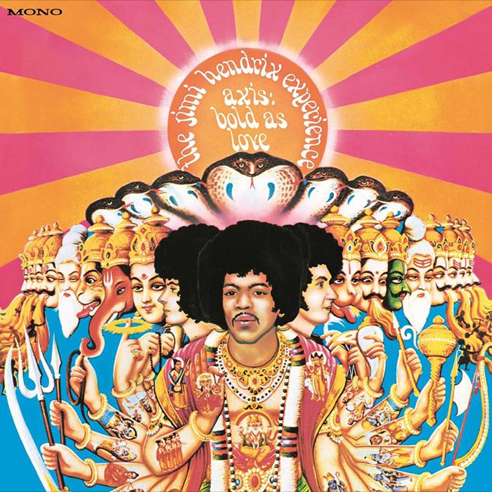 Axis: Bold As Love - The Jimi Hendrix Experience - Mono